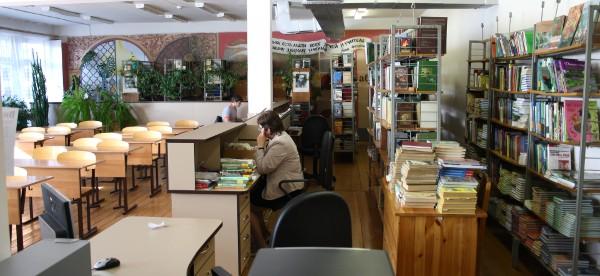 В библиотеке СЛТ